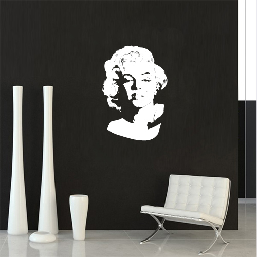 marilyn monroe 1 stikeri i slike na platnu. Black Bedroom Furniture Sets. Home Design Ideas